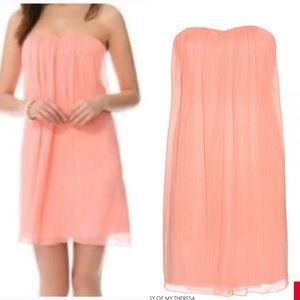 Alice + Olivia Jazz Center-Drape Strapless Dress